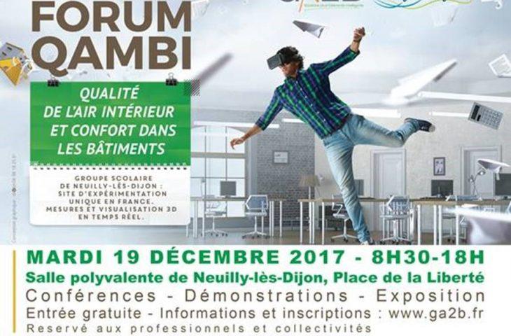Visuel du forum QAMBI à Neuilly-lès-Dijon, le 19 décembre 2017