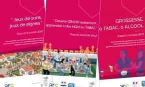 Image des couvertures des évaluations santé enfance jeunesse prévention de la Mutualité Française